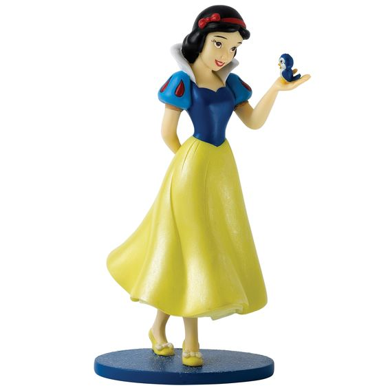 A28400 The Fairest of Them All (Snow White Figurine) The beautiful and kind-hearted princess #SnowWhite charms every creature in the kingdom. #Disney