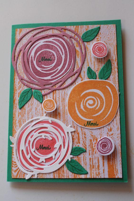 Voici quelques cartes réalisées avec les 5 nouvelles couleurs de chez SU. Les In color 2016-2018 : Denim Dandy Emeraude envoutante Flamant fougueux Pêche fraiche Sorbet aux prunes J'espère que ces créations vous inspireront. N'hésitez pas à me contacter...