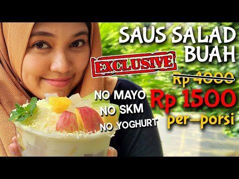 Saus Salad Buah Creamy No Mayo Rahasianya Pake Ini Youtube Saus Salad Ide Makanan Makanan