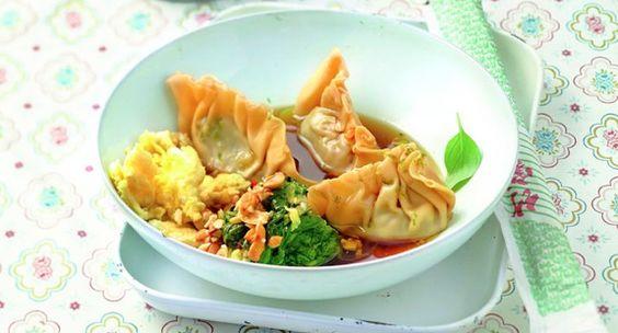 Lieblingsrezept: Wan Tans mit schwarzen Bohnen gefüllt