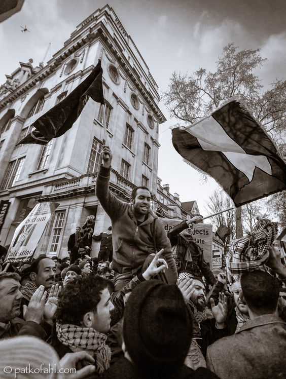 Gaza Bombing Protest - London by Pat Kofahl on 500px