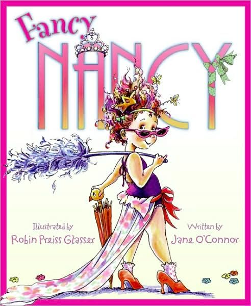 Good book for your dramatic little princess who likes big words, dressing up and french.
