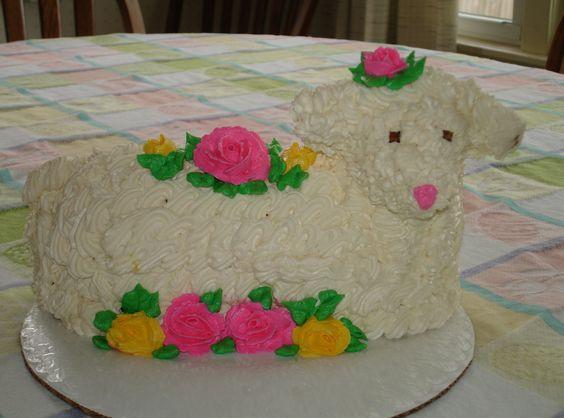 Easter Lamb Cake | Recipe | Lamb Cake, Easter Lamb and Lamb
