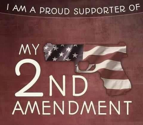 I Love My Gun Rights.  I do not own a gun but I am happy to know there are others who are free to have them.  These are our rights...to have or not to have.  Don't take away from the haves!!!!