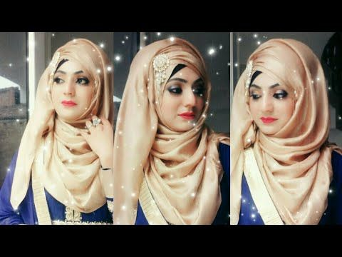 The Most Requested Hijab Style For Wedding And Parties Ft Ruhi Hijabs Youtube Hijab Styles For Party Hijab Style Tutorial Hijab Tutorial