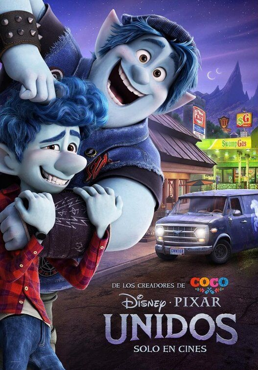 onward 2020 movie poster new movie
