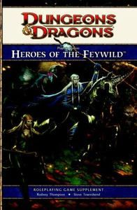 Players Option Heroes of The Feywild A 4th Edition Dungeons and Dragons 0786958367   eBay SOLD