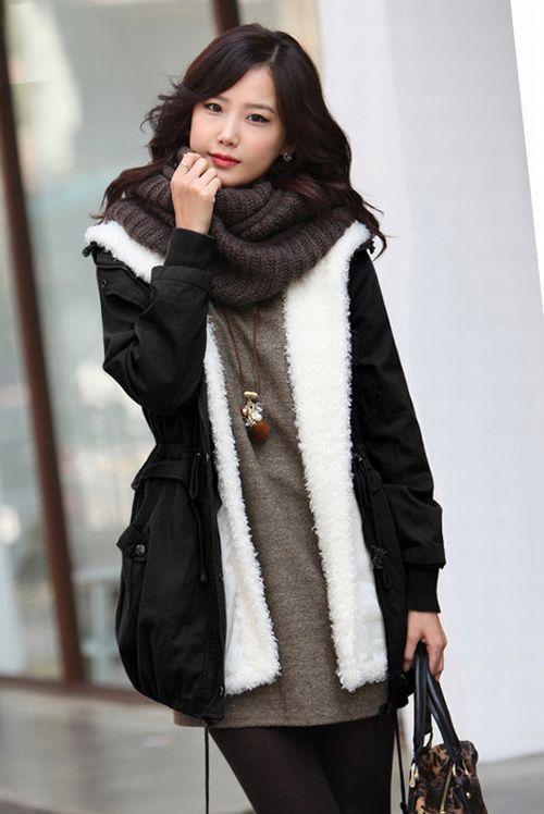 Model Jaket Wanita Musim Dingin Korea Trend