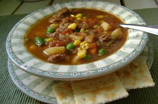 There and Back Again: Slow Cooker Vegetable Beef Soup