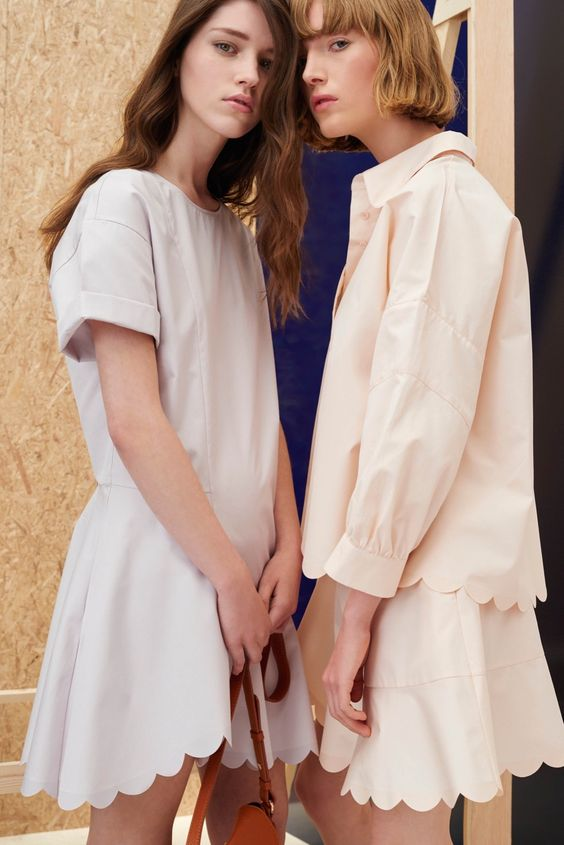 There is something here that I just... like  See by Chloé Resort 2016 - Collection - Gallery - Style.com