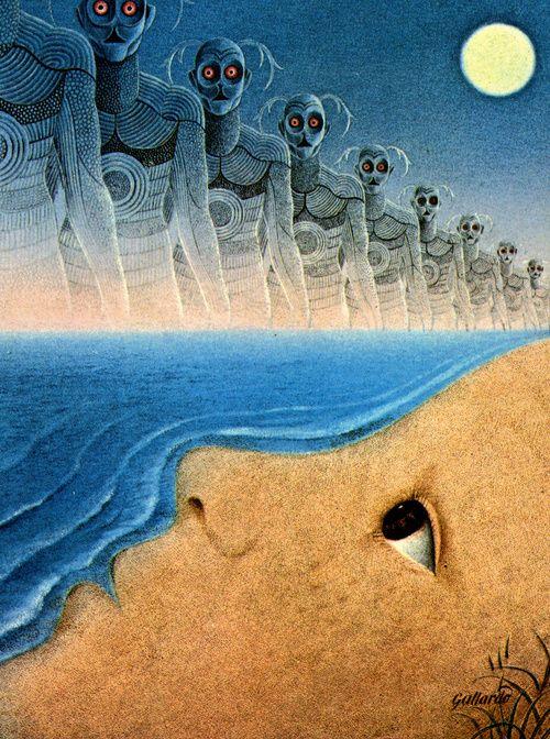 Gervasio Gallardo - Chains of the Sea, 1974.: