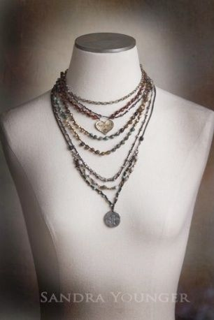 The Knotty-Do-It-All. Love this necklace.