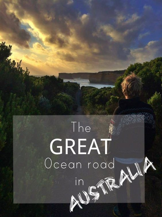 Great ocean road in pictures. One of the most beautiful roads in the world