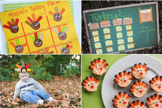 Great Thanksgiving ideas for kids!