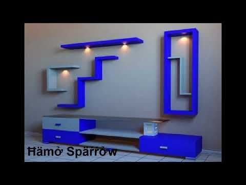 ديكورات جبس بورد 2017 2 شاشات Lcd Youtube Ceiling Design Decor Lighted Bathroom Mirror