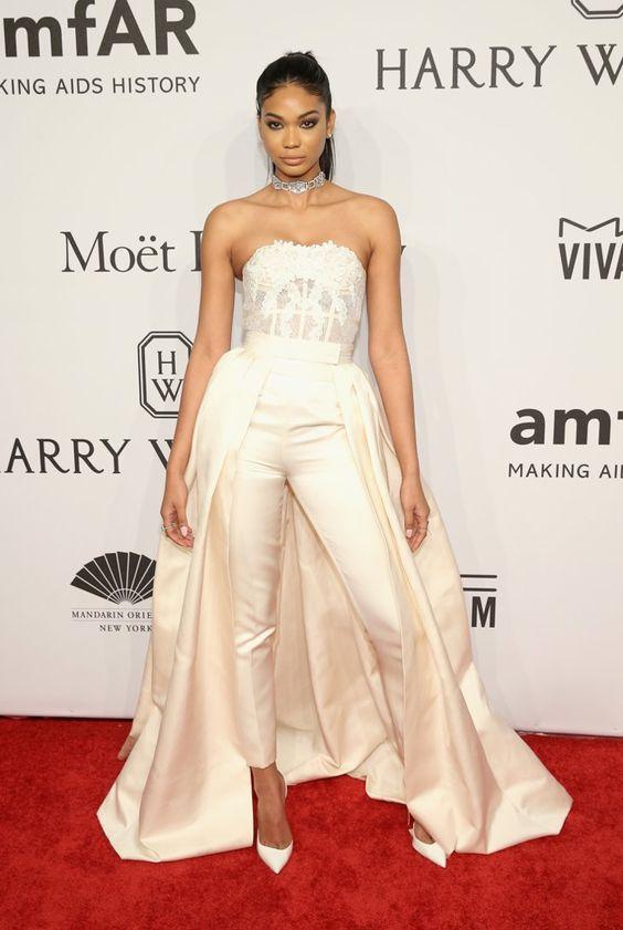 Pin for Later: Vos Célébrités Favorites Ont Porté les Robes les Plus Sexy de L'année au Gala de L'amfAR Chanel Iman