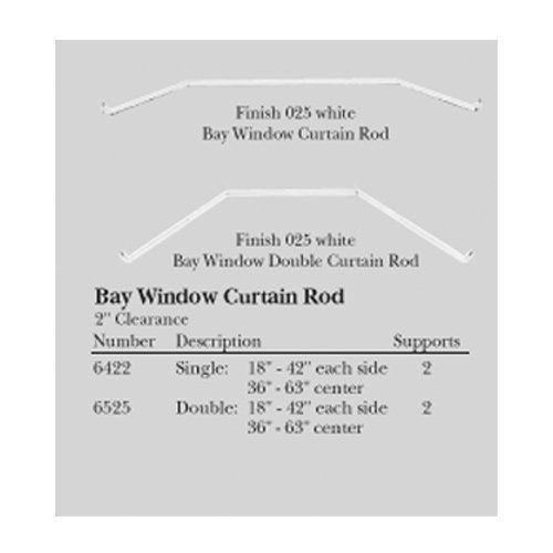 Curtains Ideas bay window curtain rod set : Single Bay Window Curtain Rod Set by Kirsch. $24.99. Side sections ...