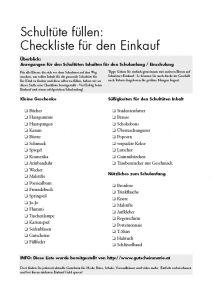 SPANNEND und WICHTIG tolle Checkliste!