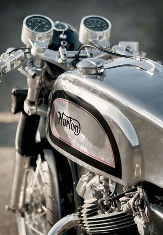 Pin By Leo On Bike Norton Cafe Racer Norton Motorcycle Classic