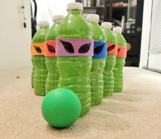 Crane Tmnt Toys : Ninja turtles planets and recycled plastic bottles on