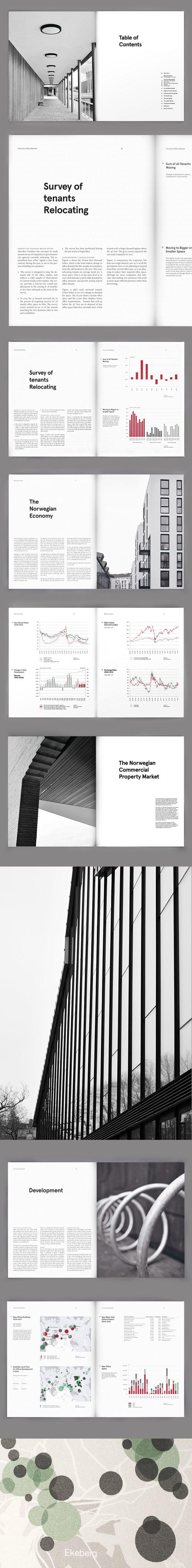 Akershus Eiendom Annual Report Layout Design | Publication and Print Design