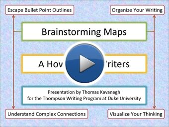 Brainstorming Maps for Writers: A How-To | myBrainshark