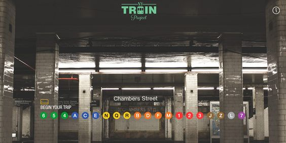 Sites da Semana: DevRocket, NY Train Project, TRÜF e mais | Abduzeedo Design Inspiration