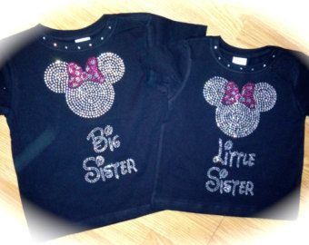 Minnie mouse big sister little sister shirts   Shirt. Big Sis Shirt. Big-Sister Minnie-mouse Shirt. Big sister ...