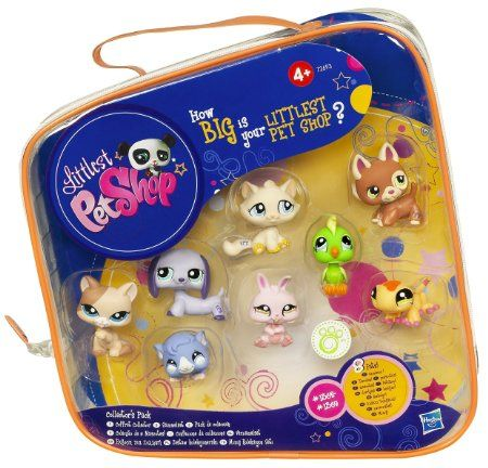 Amazon.com : Littlest Pet Shop Collector's Starter Pack : Toy Figure Playsets : Toys & Games