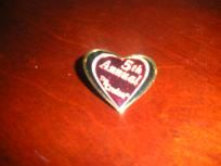 Heart Biker Pin