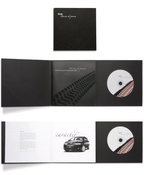 Press book Sköda  Salón del Automóvil  Road Publicidad