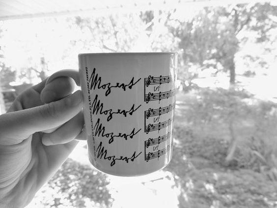 Vintage Mozart Mug/Music Gifts Co. by OanaVintageCorner on Etsy