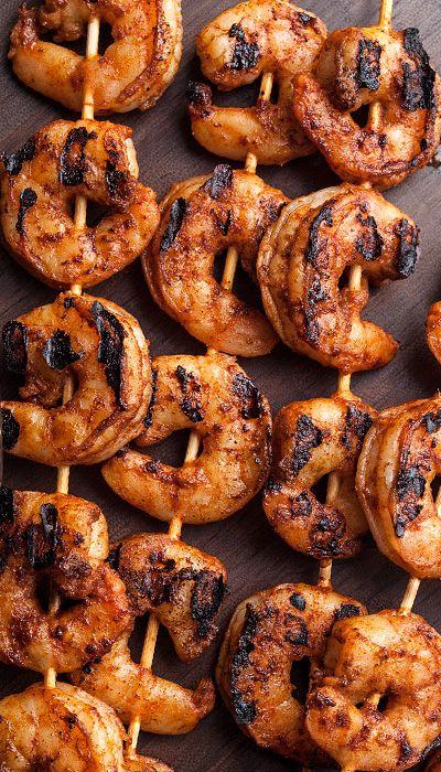 Grilled shrimp tacos, Grilled shrimp and Shrimp tacos on Pinterest