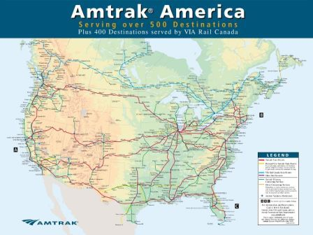 How to Circumnavigate the United States in 15 Days on a U.S.A. Rail Pass