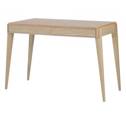 Liseré 330, bureau éco-design en bois, meuble naturel made in France, Julie Gaillard.