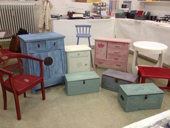 Workshop: Mit Kreidefarben Möbel gestalten