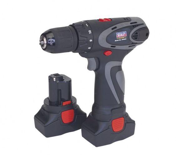 Sealey Cordless Drill/Driver 2-Speed Motor - 2 Batteries