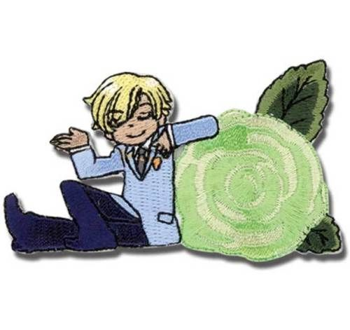 """Ouran High School Host Club Anime Tamaki Patch 3/"""" x 1.75/"""" Licensed GE Animation"""