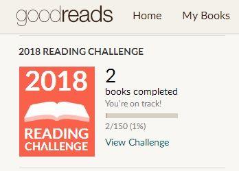 Goodread Challenge 2018