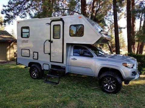 26 2016 Toyota Tacoma Motorhome Bend Oregon Youtube Toyota