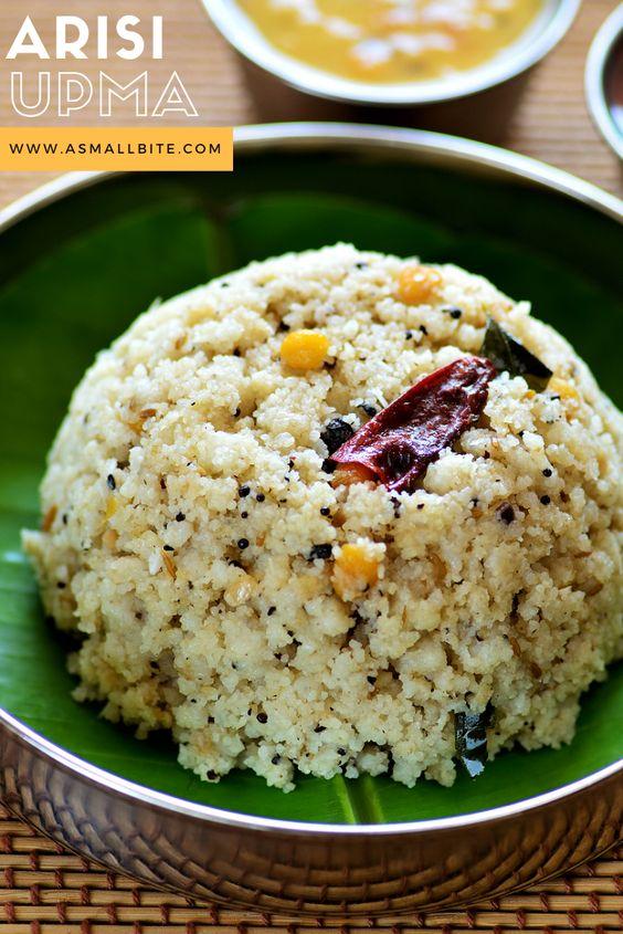 Chettinad Arisi Upma Recipe