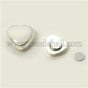 Enameled Acrylic Magnetic Ear StudsEJEW-I055-08A-1