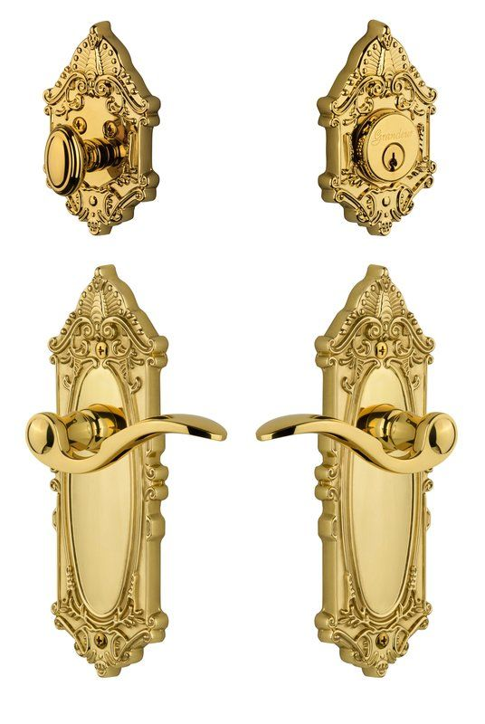 Complete Grande Victorian Entry Lever Set With Single Cylinder Deadbolt In 2020 Antique Furniture Victorian Victorian Rooms