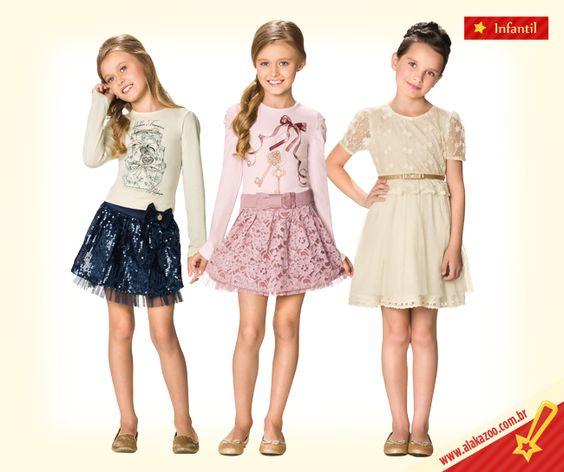 Resultado de imagem para fotos de roupas de meninas