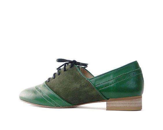 Hilde manish shoes tri=c (トリック) カラー オーダーメイド マニッシュ シューズ