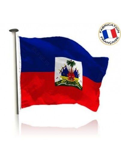 Drapeau Haïti Made In France by Manufêtes