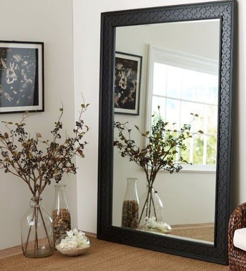 Not Just As An Attractive Component Of Room That Has A Visual Element The Mirror Should Also Consider The Features As We Floor Mirror Mirror Diy Floor Mirror