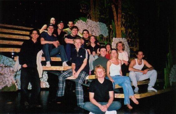 My Joseph brothers :) UK tour 2001-2
