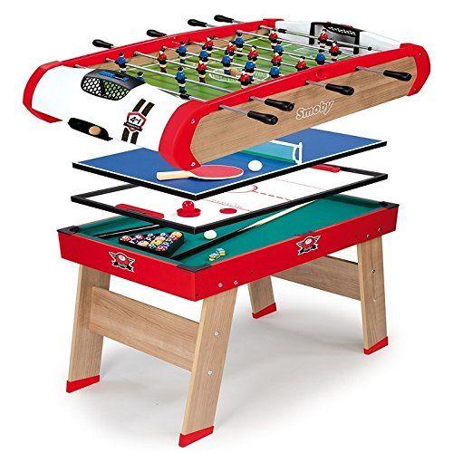 Offerta Di Oggi Smoby 7600640001 Calcetto Multigioco 4 In 1 A Eur 224 65 Invece Di Eur 299 90 Soccer Table Ping Pong Diy Decor