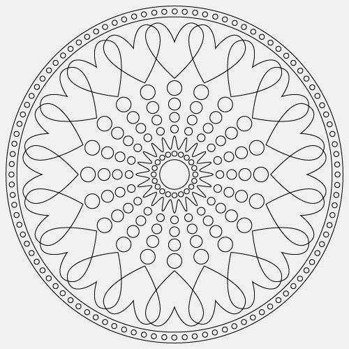 Printable Yoga Poses For Preschoolers Mandala Coloring Pages Yoga For Kids Mandala Coloring